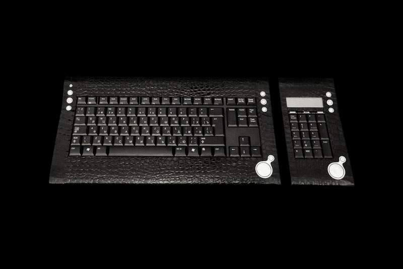 MJ LUXURY - VIP Keyboards Exclusive Made of Gold, Wood